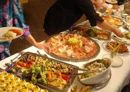 Dish Up Your Food Buffet Style