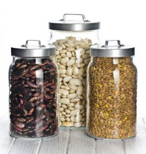 Dried beans and legumes