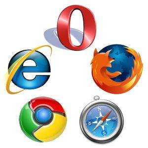 use another browser