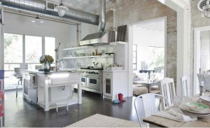 Shabby chic and industrial