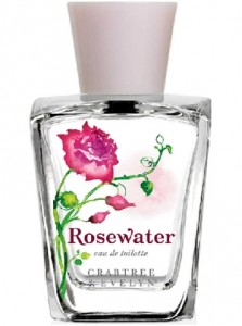 crabtree and Evelyn rosewater