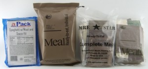 Meals Ready to Eat - MRE
