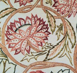 needlework detail