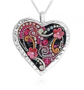 heart pendant from Orit Schatzman