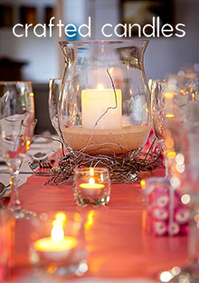 Crafted Candles catalog