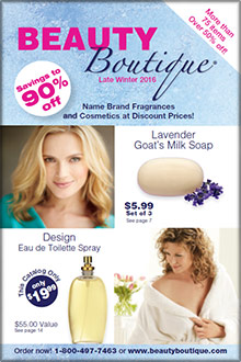 Beauty Boutique discount catalog