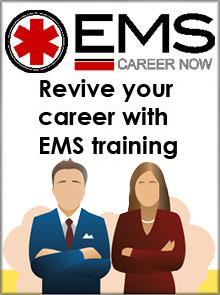 Picture of ems career now catalog from EMS Career Now catalog