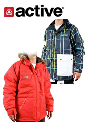 Image of snowboarding outerwear from CCS Skateboards catalog