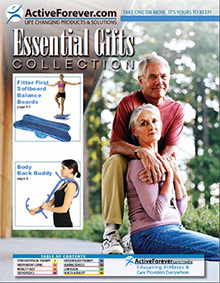 Picture of physical therapy aids from Active Forever catalog