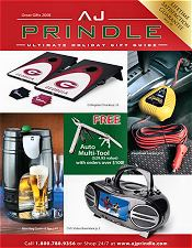 Picture of car travel accessories from AJ Prindle catalog