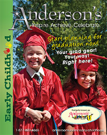 Picture of kindergarten graduation ideas from Anderson's Early Childhood Development catalog