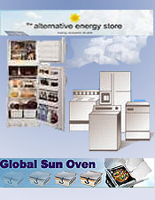 Image of energy efficient home products from Alternative Energy Store catalog