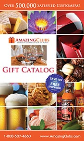 Picture of gifts of the month club from Amazing Clubs catalog