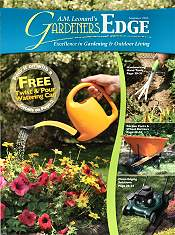 Picture of metal garden décor from  A.M. Leonard's Gardeners Edge catalog