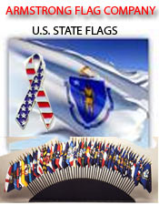 Image of american states flags  from Armstrong Flag Company catalog