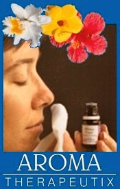 Picture of therapeutic essential oils from AromaTherapeutix catalog