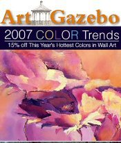 Picture of discount art prints from Art Gazebo catalog