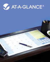 Image of desk calendar planner from AT-A-GLANCE � catalog
