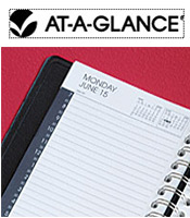 Image of unique day planner from AT-A-GLANCE � catalog