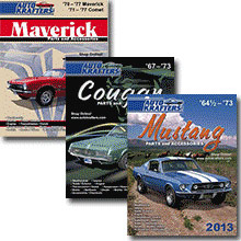 Picture of Ford parts catalog from Auto Krafters – Ford & Mercury catalog