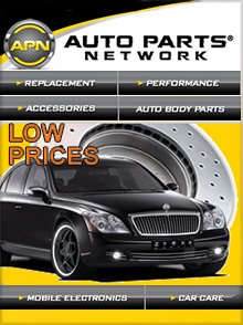 Picture of online auto parts store from Auto Parts Network catalog