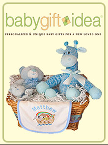 Picture of baby gift idea store from Baby Gift Idea catalog
