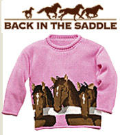Image of kids horse apparel from Back in the Saddle catalog