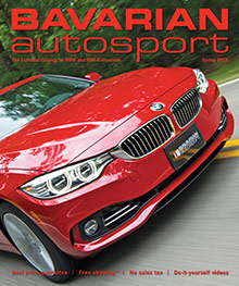 Picture of BMW parts from Bavarian Autosport catalog