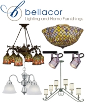 Picture of discount table lamps from Bellacor 1 catalog