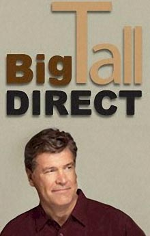 Picture of big & tall clothing for men from Big Tall Direct catalog