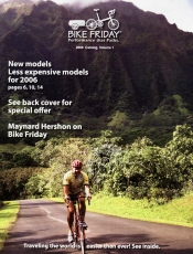 Picture of folding bicycles from Bike Friday catalog