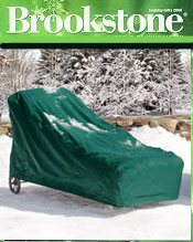 Image of outdoor protective covers from Brookstone catalog