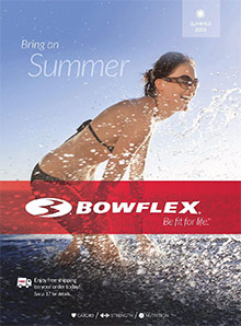 Picture of bowflex catalog from Bowflex  catalog