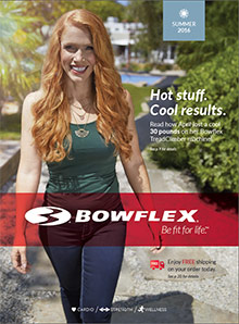 Picture of bowflex catalog from Bowflex®  catalog