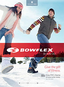 Picture of bowflex catalog from Bowflex�  catalog