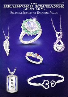 Picture of bradford exchange jewelry from The Bradford Exchange catalog