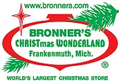 Picture of outdoor christmas decor from Bronner's Christmas Wonderland catalog