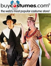 Picture of Halloween costumes for sale from Buy Costumes-Old catalog