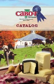 Picture of buy cheese online from Cabot Cheese and Gifts catalog
