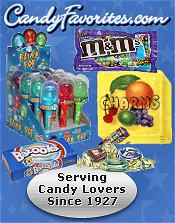 Picture of candy catalogs from CandyFavorites.com catalog