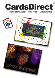 Image of business birthday greetings from CardsDirect - Christmas Catalog catalog