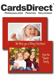 Image of photo holiday greeting cards from CardsDirect - Christmas Catalog catalog