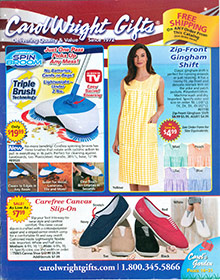 Picture of carol wright catalog from Carol Wright Gifts catalog
