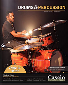 Picture of drum sets from Cascio catalog
