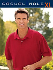 Image of big mens tee from Casual Male XL catalog