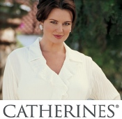 Picture of women's plus size clothing from Catherines catalog