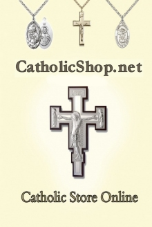 Picture of rosary cards from Catholic Shop catalog