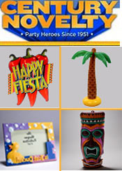 Image of cinco de mayo theme from Century Novelty catalog