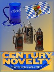 Image of oktoberfest party theme from Century Novelty catalog