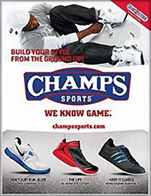 Picture of Champs sportswear from Champs Sports catalog